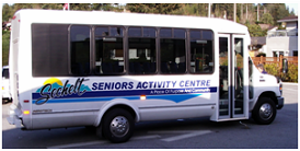 Sechelt Seniors Bus