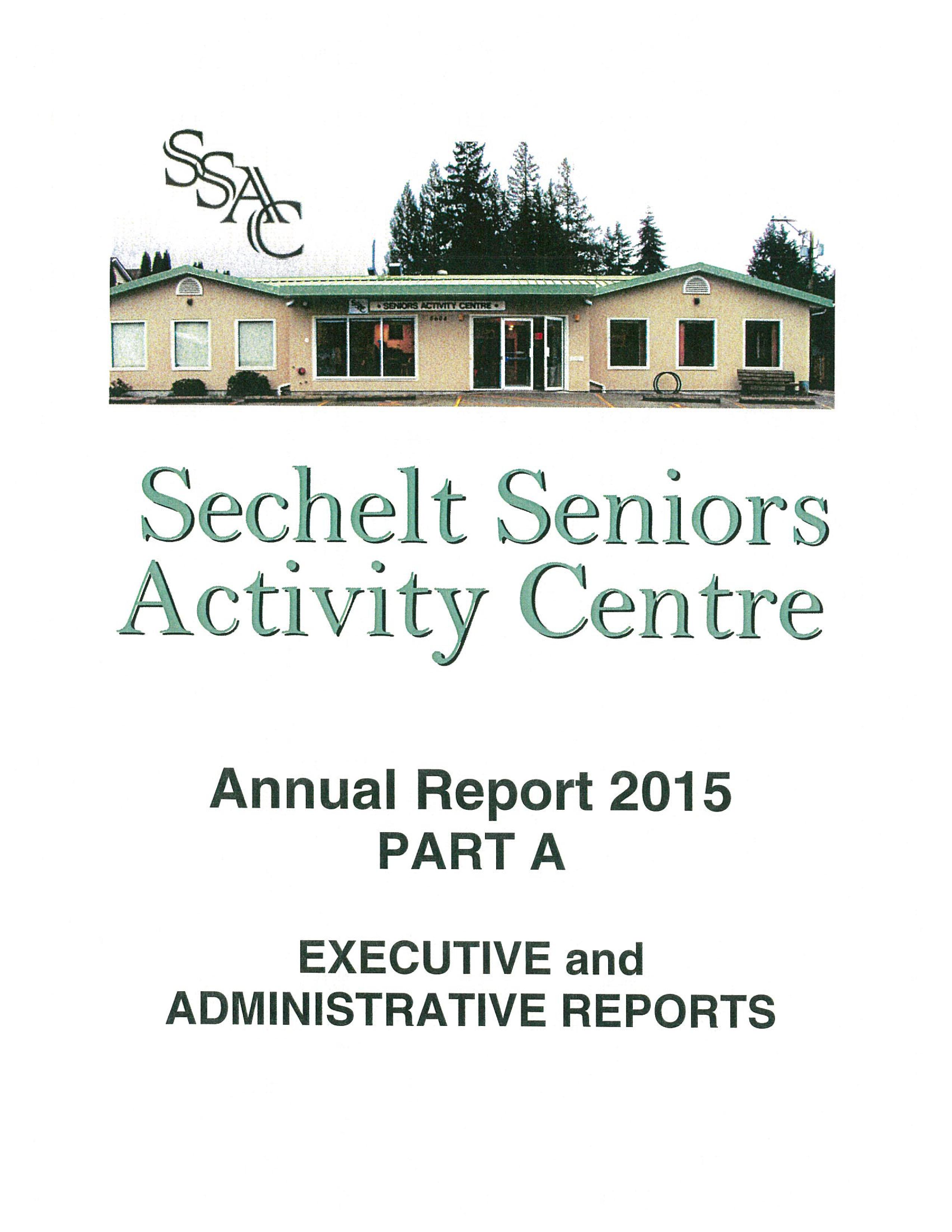 SSAC ANNUAL REPORT 2015-1