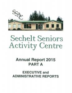 SSAC ANNUAL REPORT 2015 11.27