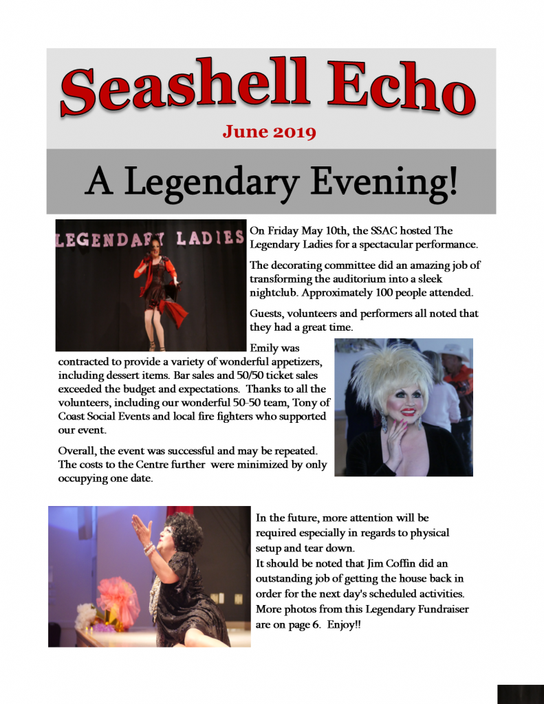 Seashell Echo June 2019 - click to download