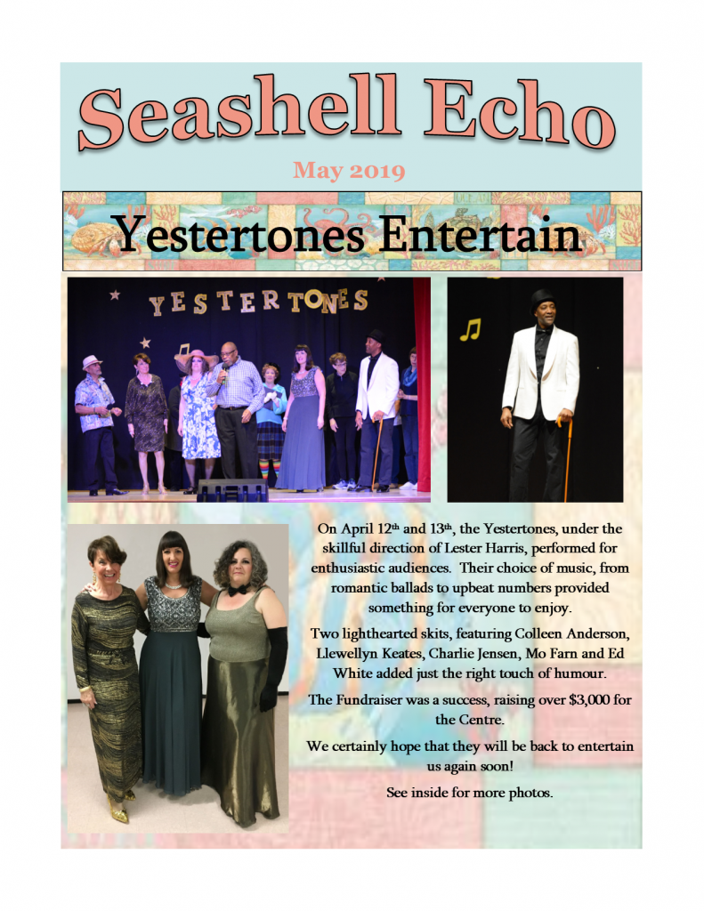 Seashell Echo May 2019 - click to download